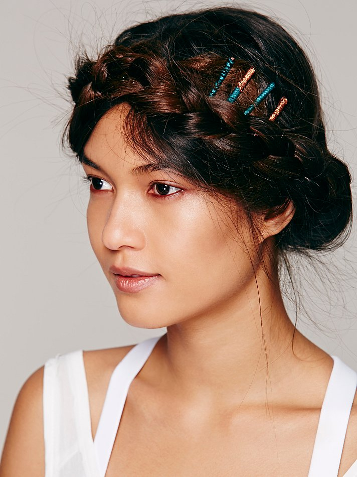 Bobby Pins Hairstyle