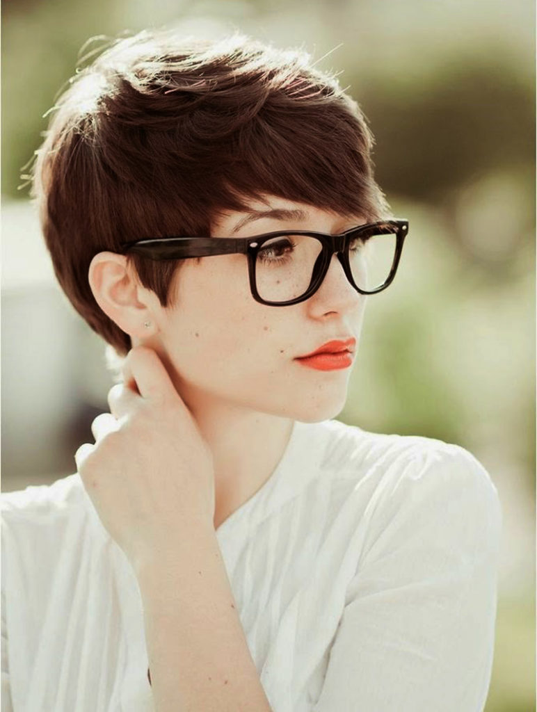 Hairstyle With Glasses