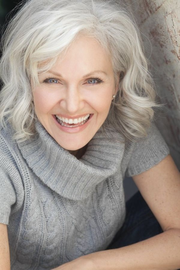Grey Hairstyles For Women Over 50