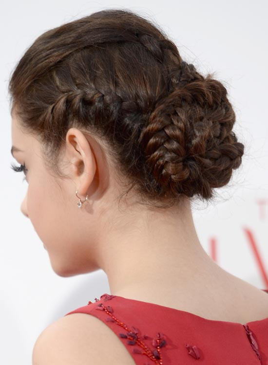 Braided Buns Long Hairstyles For Women