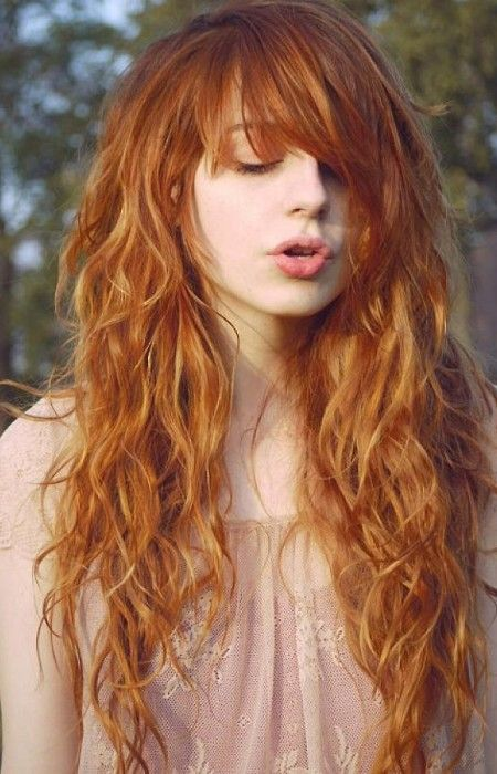 Long Hairstyles For Women With Fringes