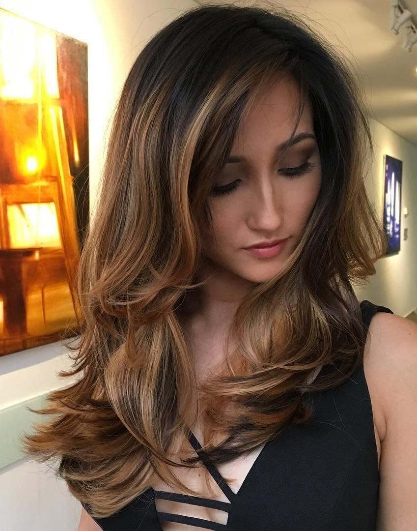 Brunette Long Hairstyles For Women