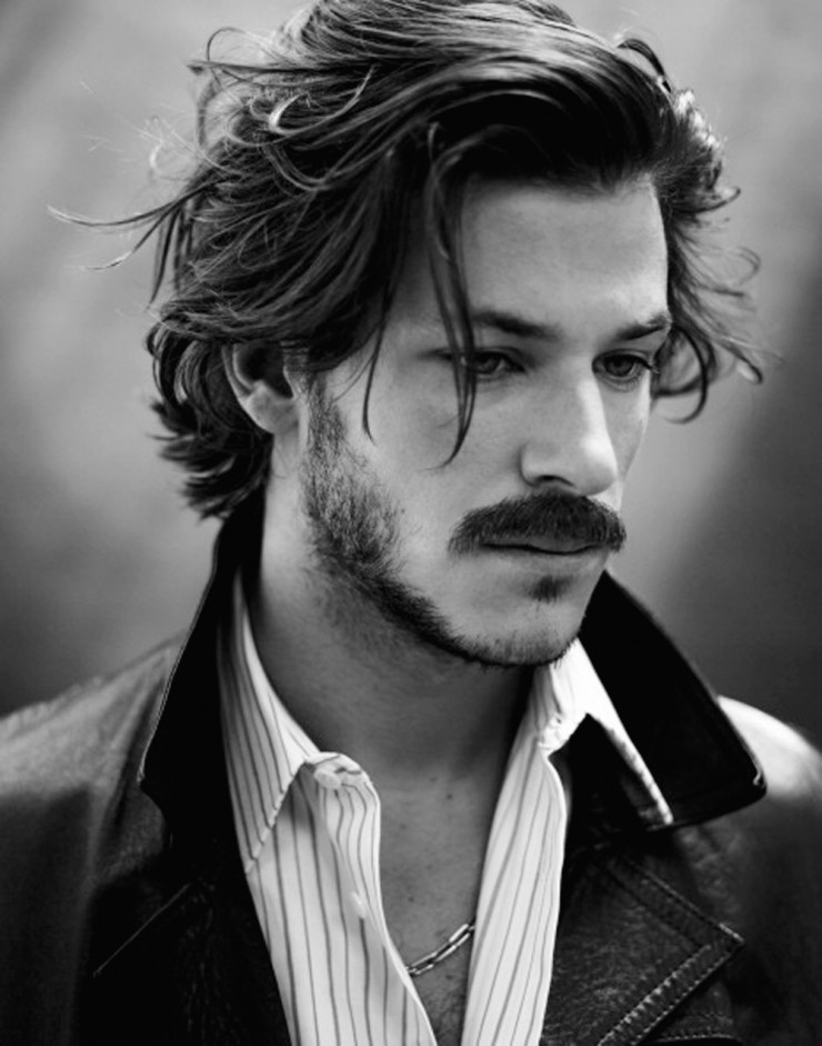 Messy Long Hairstyle For Men