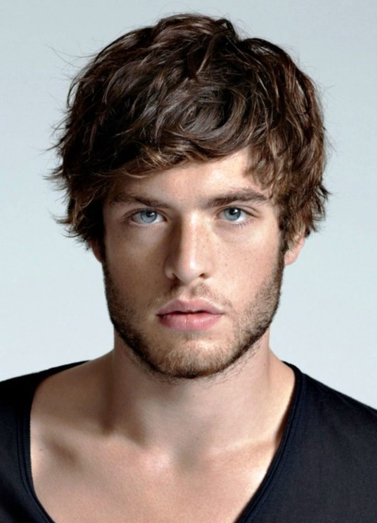 Mens Messy Hairstyles Fashionable Trendy Haircut Ideas