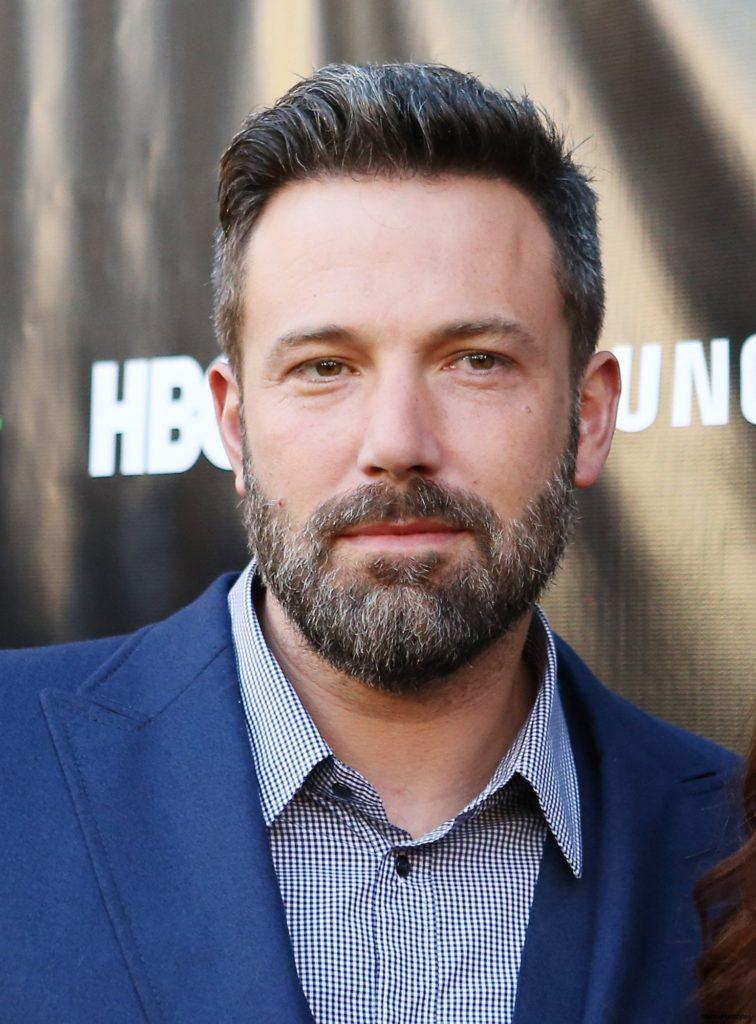 Short Grey Hair with Beard