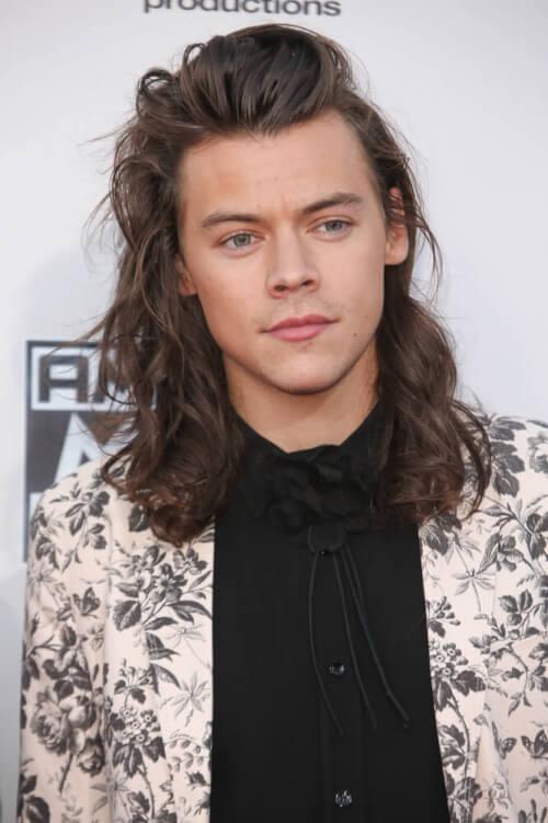 Natural Waves Long Haircut for Men