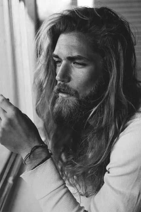 Long Hairstyles For Men With Thick Straight Hair
