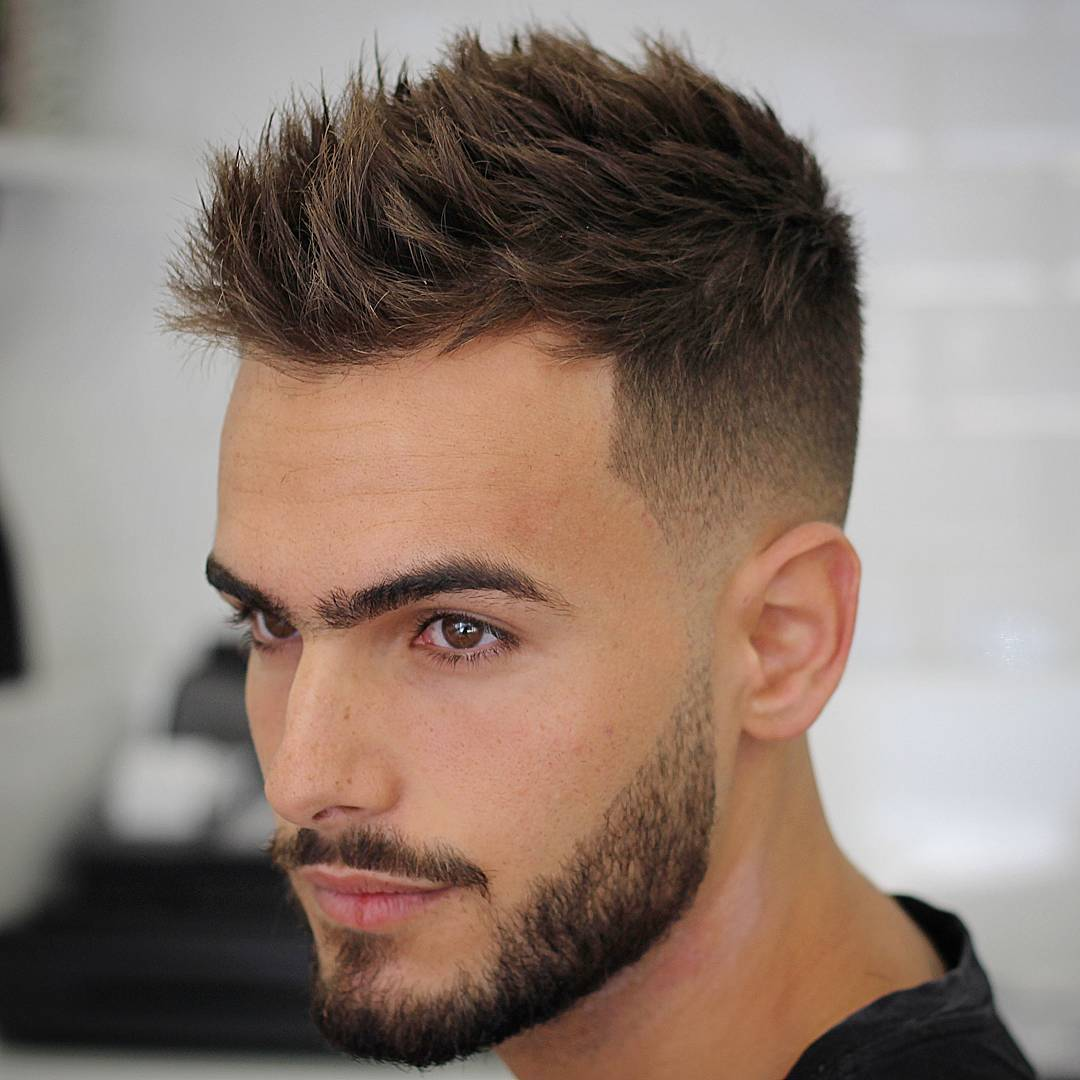 Sides Shave Hairstyle for Men