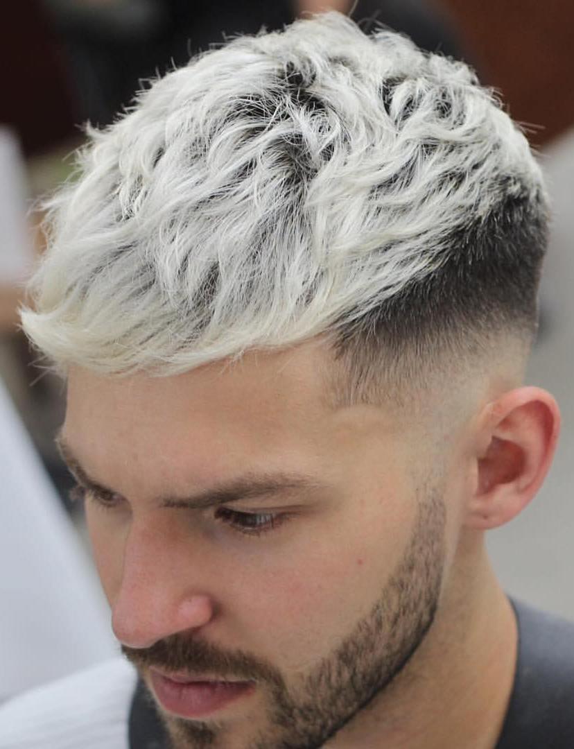 Grey Side Faded Haircut