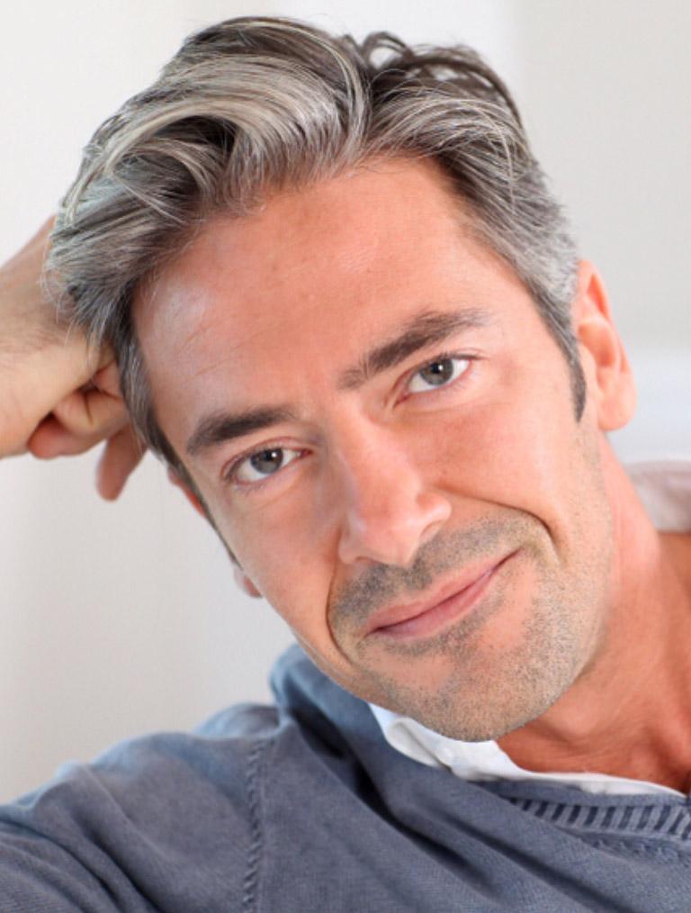 Hairstyles for Older Men