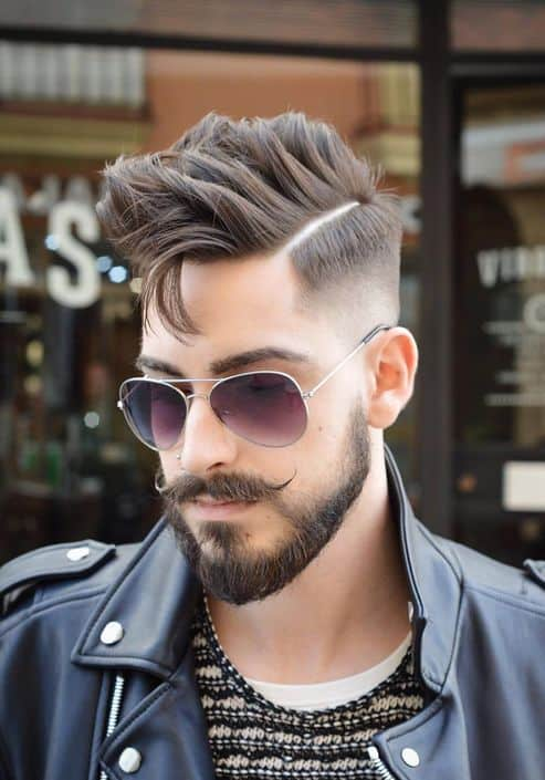 Mens Hairstyle for Thick Hair