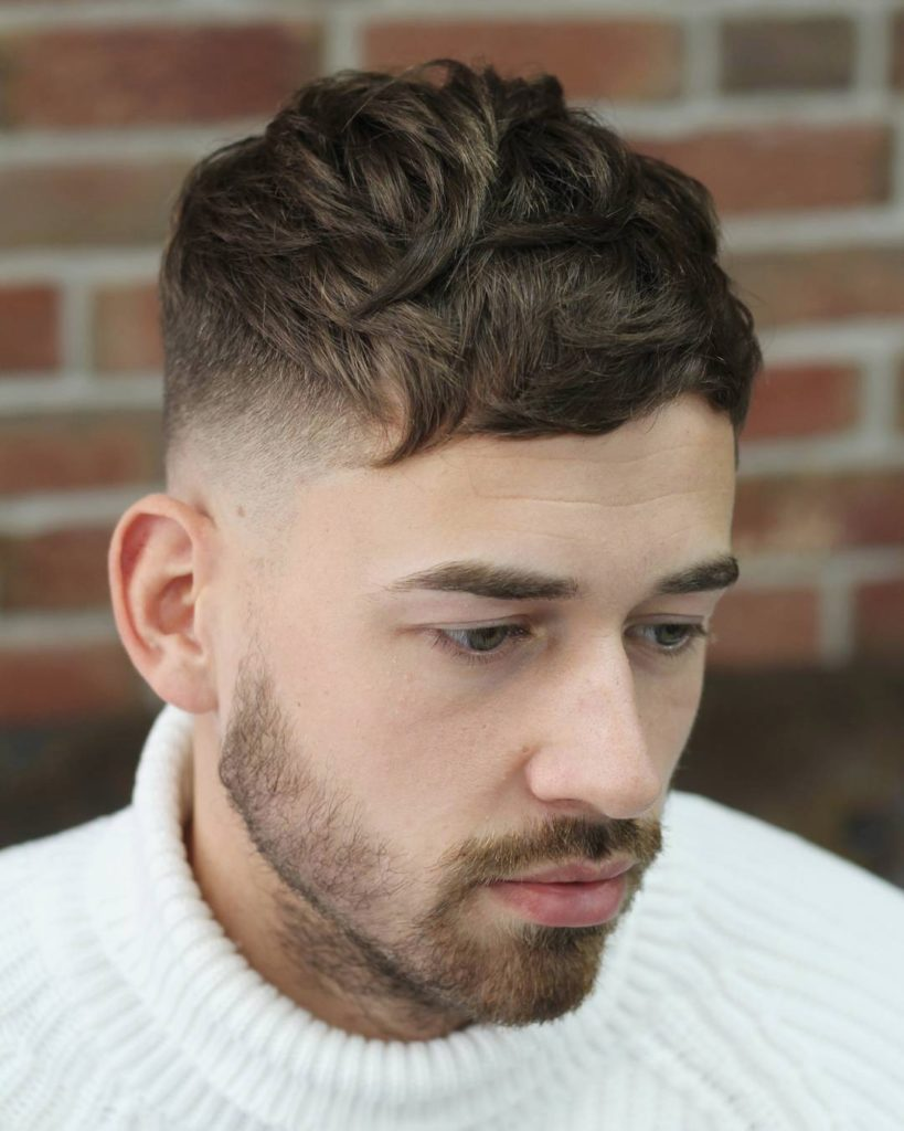 Messy Textured Hairstyle