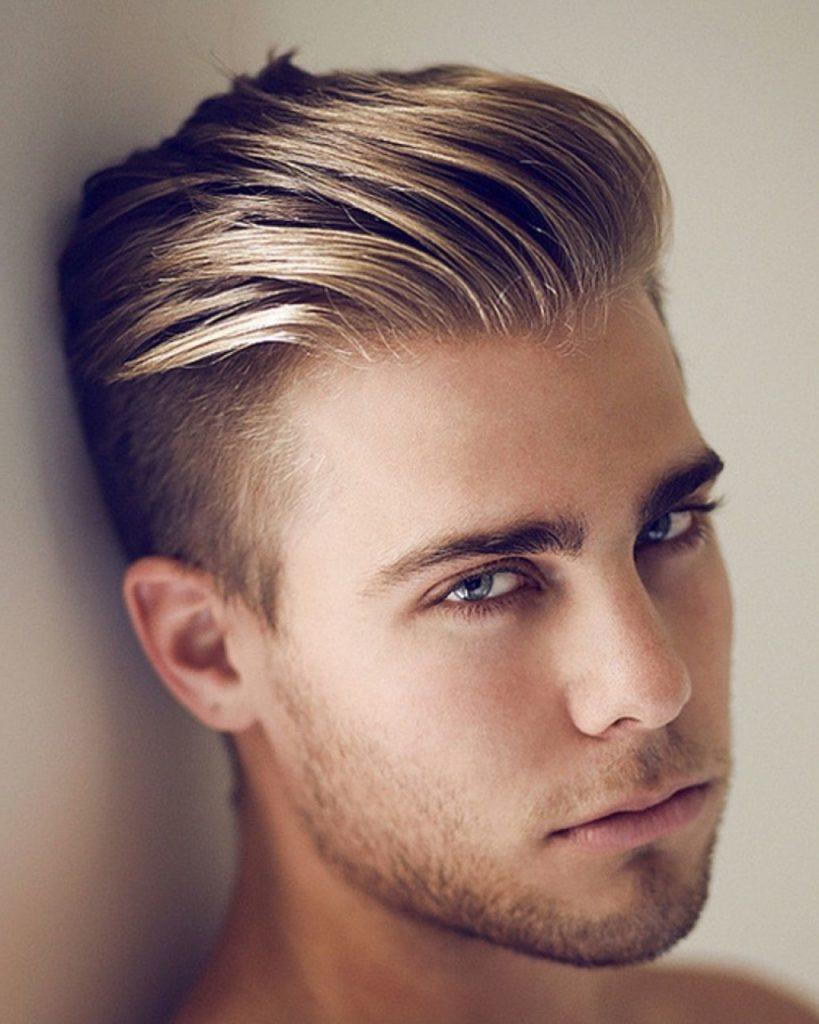 Undercut Slick Back Haircut