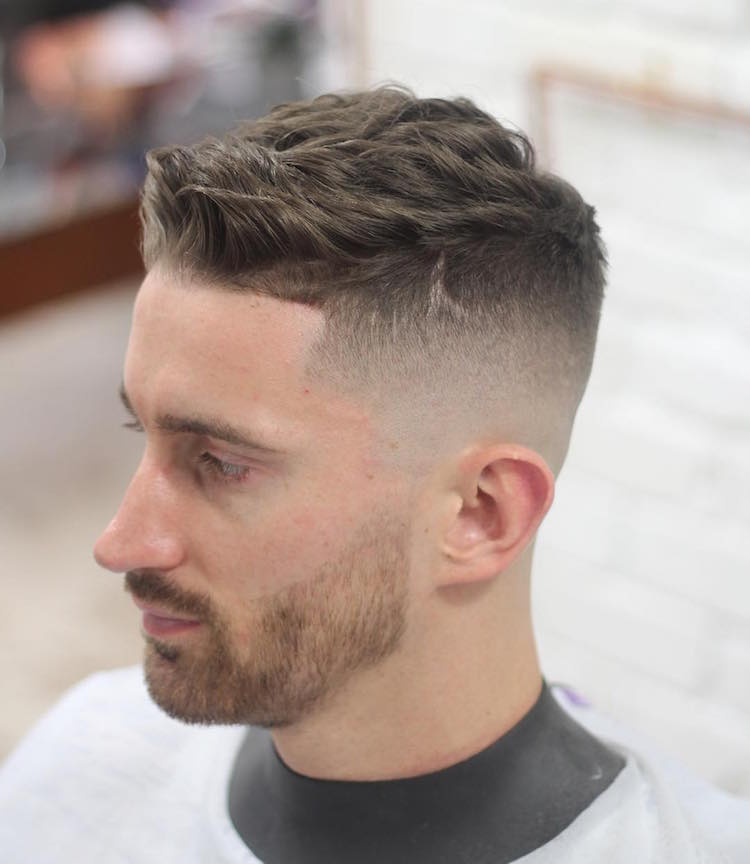 High Fade Short Hairstyle