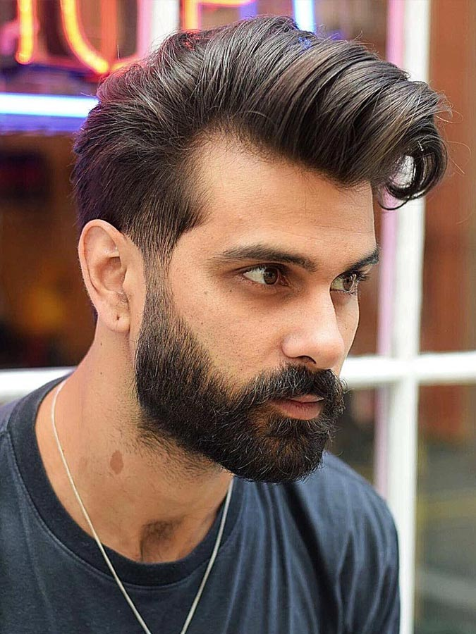 Mens Quiff Hairstyles