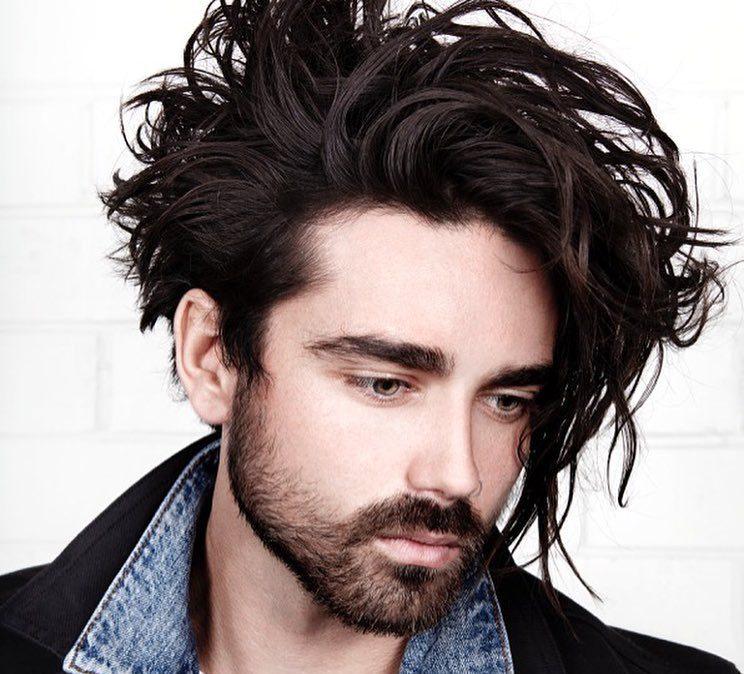Long Wavy Messy Hair