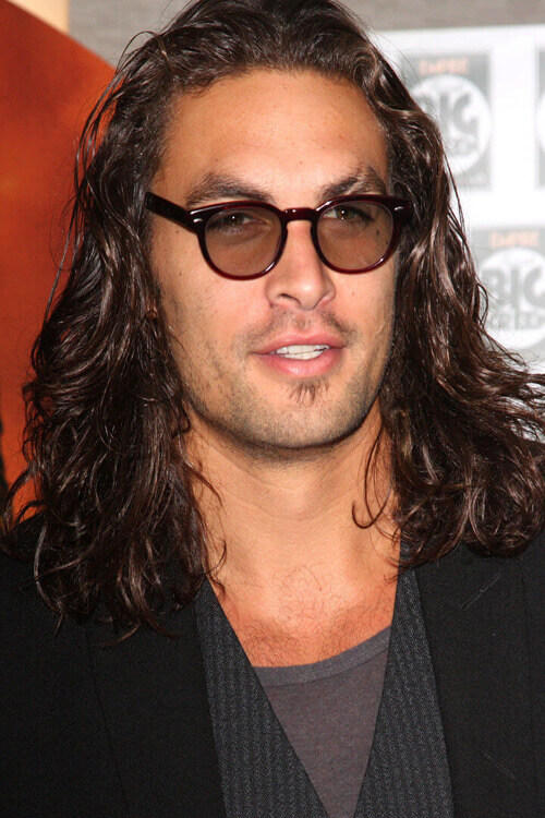 Long Texture and Curls Hairstyle Men