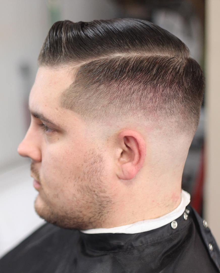 Mens Hairstyle For Round Faces