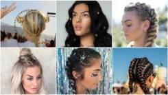 20 Coachella Hairstyles That Will Make You Look Gorgeous For the Festival