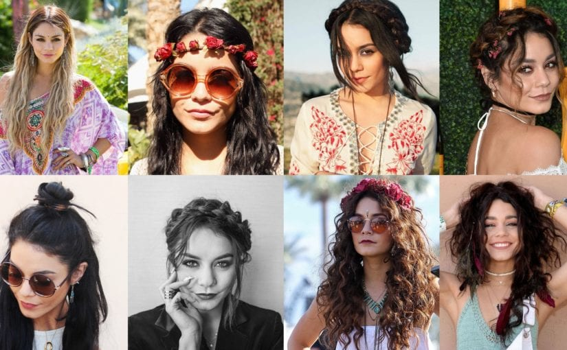 20 Coachella Hairstyles Inspired by Vanessa Hudgens