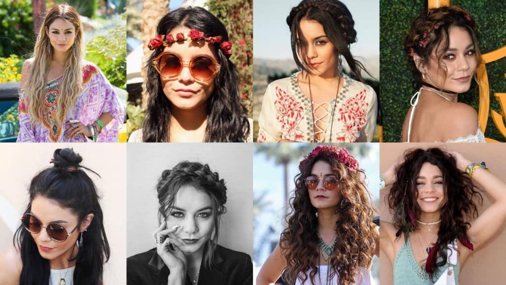 Coachella Hairstyles Inspired by Vanessa Hudgens