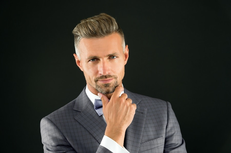 business hairstyle for men