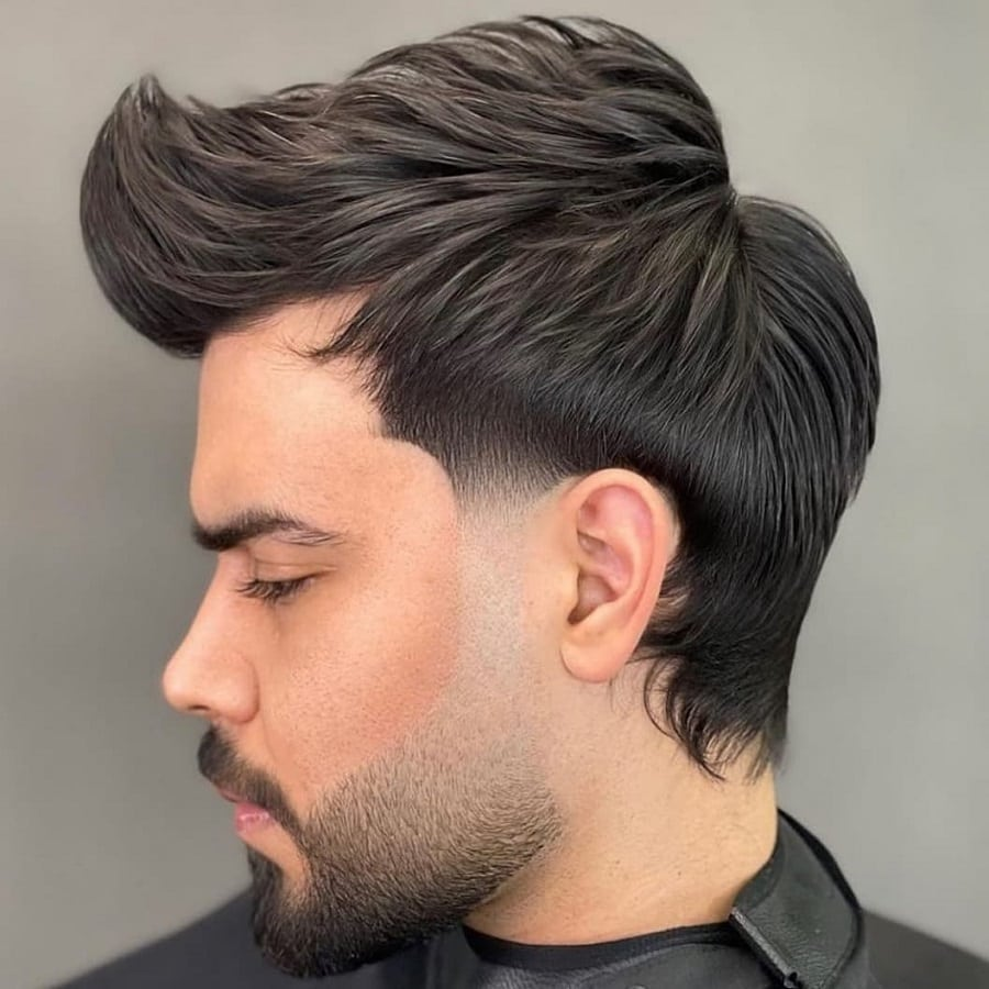mens quiff hairstyle