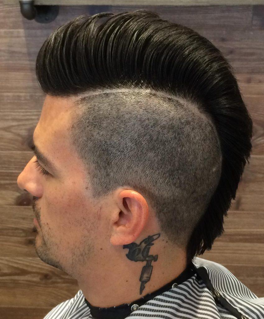 Comb Over Mohawk Haircut