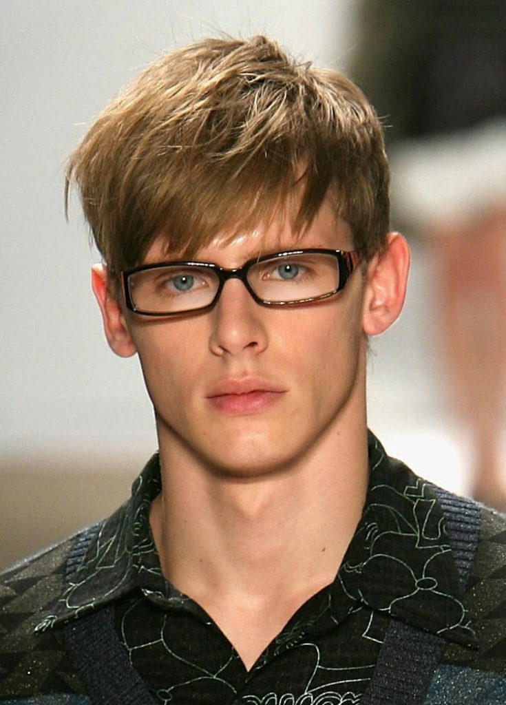 Tousled Fringe Hairstyle