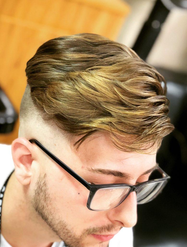 Mens Hair Color & Highlights
