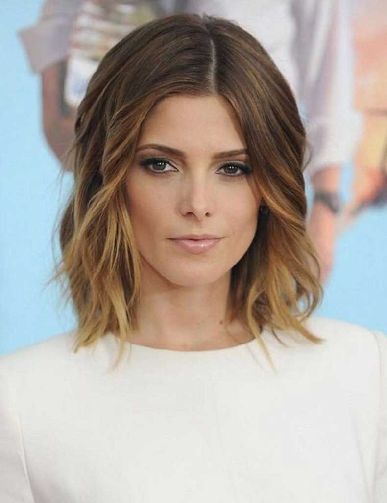 Shoulder Length Short Hairstyles