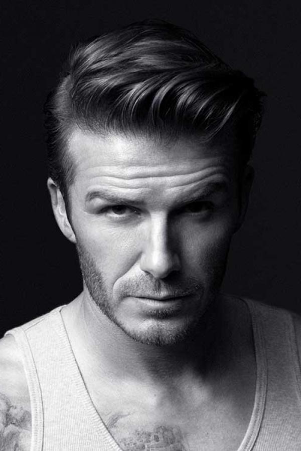 David Beckham Comb over Haircut