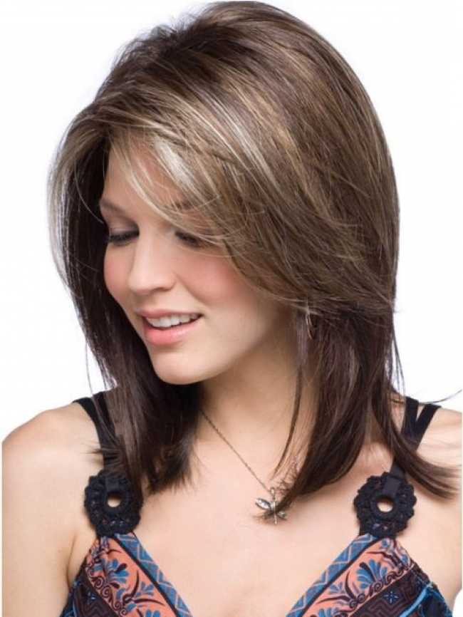 Shoulder Length Short Hairstyles