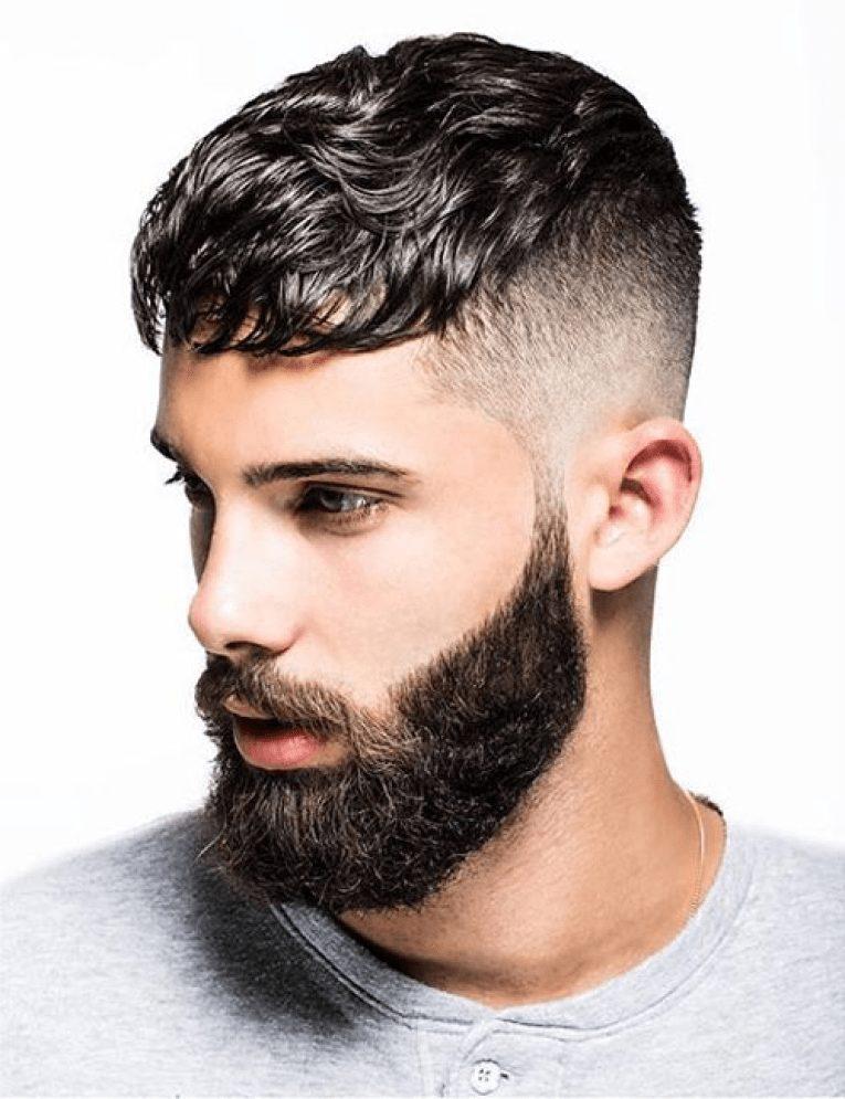 Mens Fringe Hairstyles