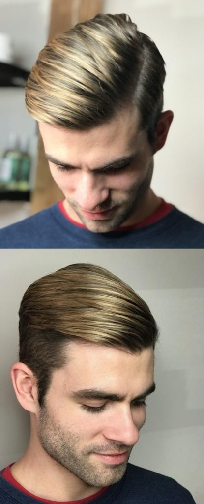 Balayage Hair Color for Men