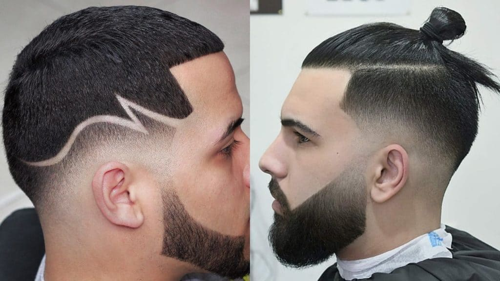 30 Types of Fade Hairstyles & Haircuts for Men Trending Right ...