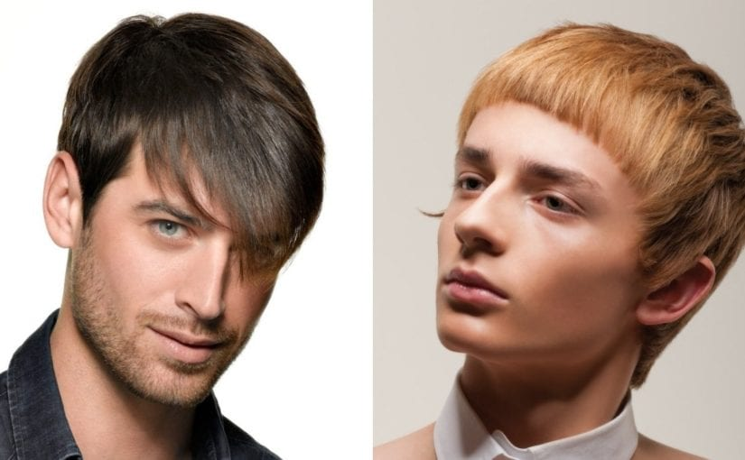 Mens Fringe Hairstyles