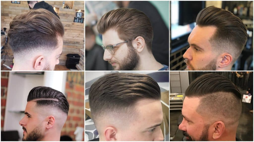 Mens Slick Back Hairstyles
