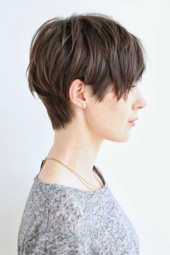 Pixie Cut Shaggy Hairstyle