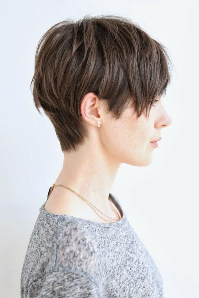 Pixie Cut Shaggy Hairstyle