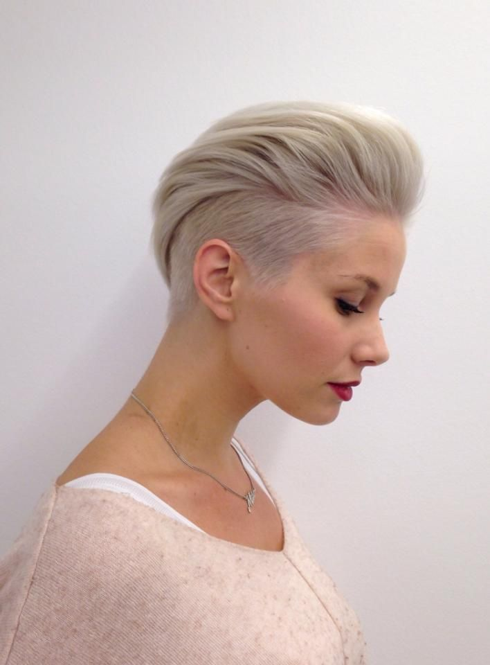 15 Unique & Classy Undercut Short Hairstyles for Women | Hairdo Hairstyle