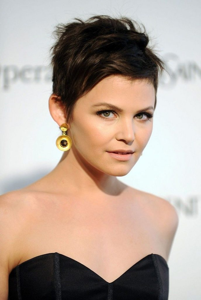 Messy Short Pixie Cut Hairstyle