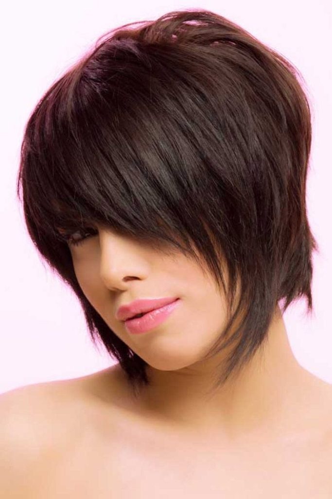 Layered Shaggy Bob Hairstyle