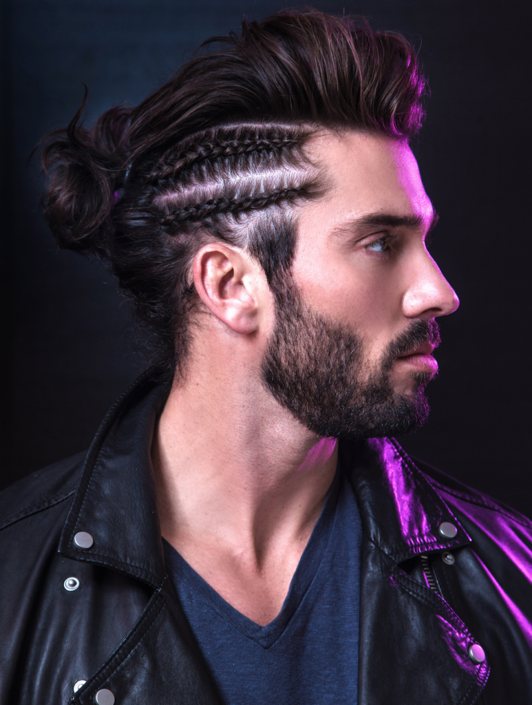 Two Side Braids Hairstyle with Long Hair