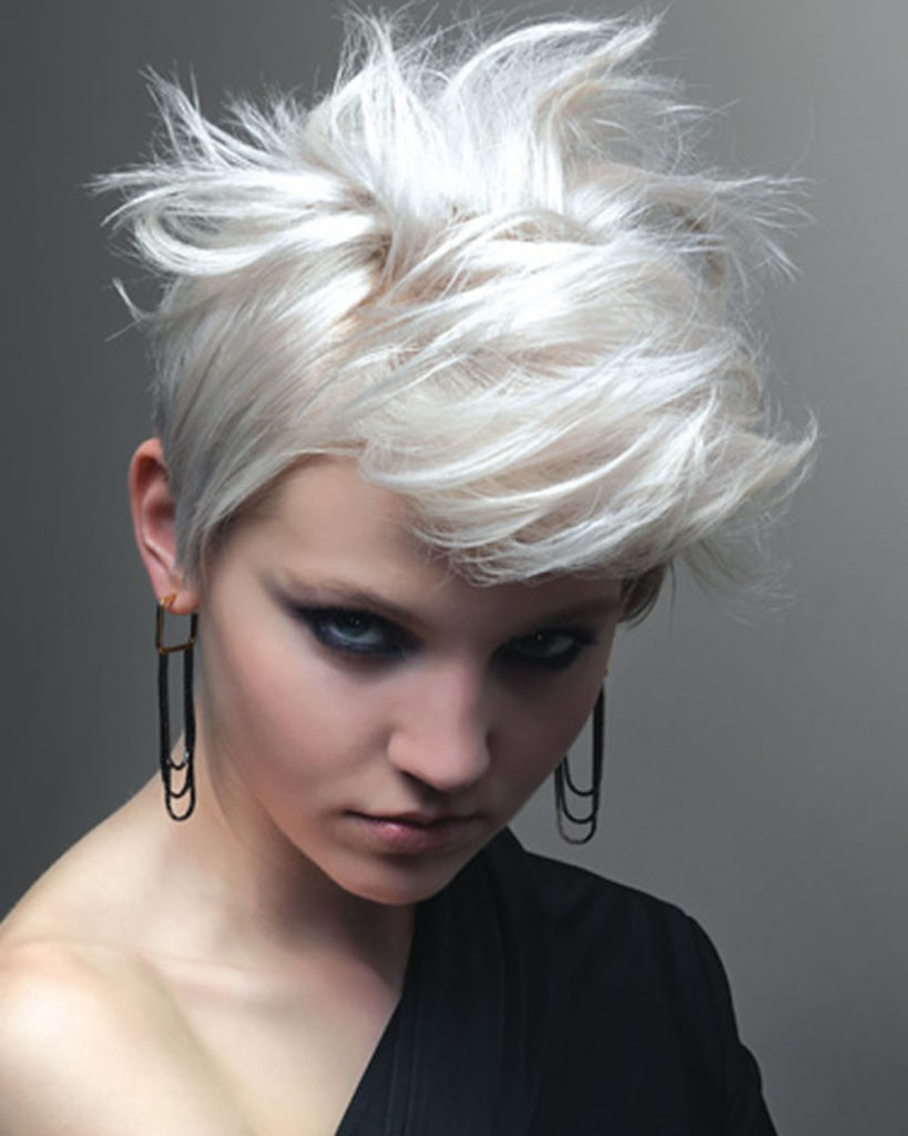 Messy Short Hairstyles