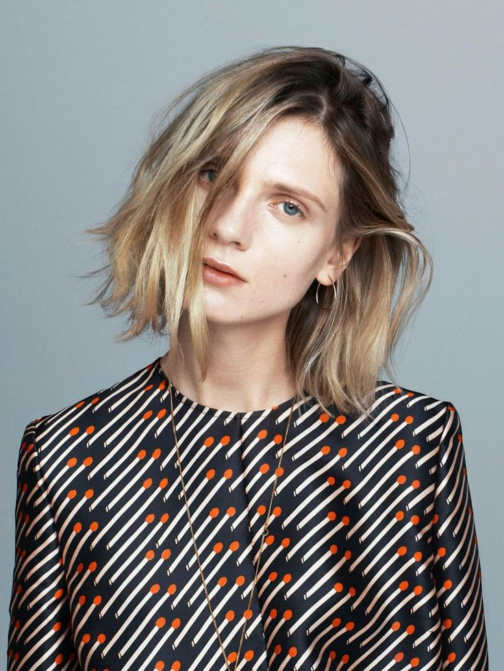 Blonde to Ombre Bob Hairstyle
