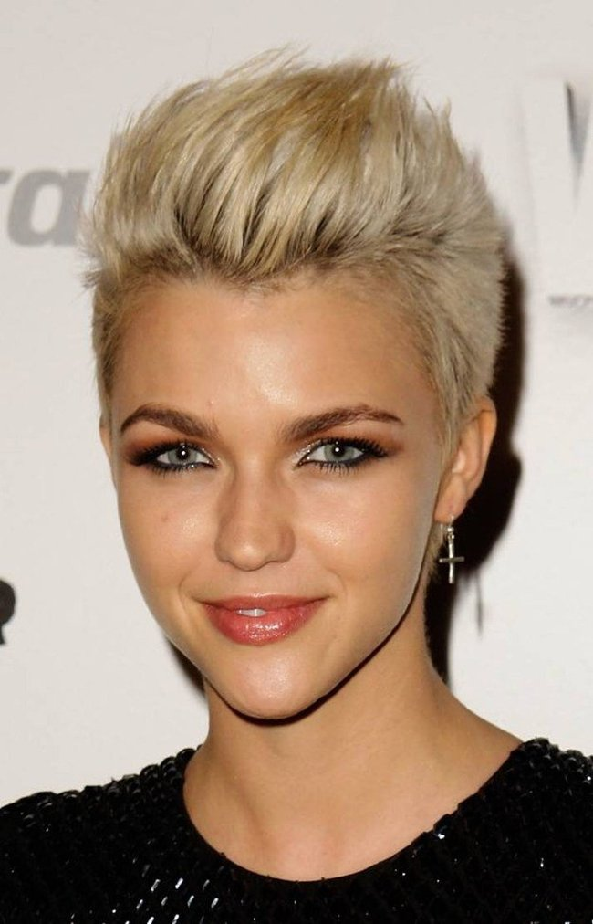 Spiky Short Hairstyle