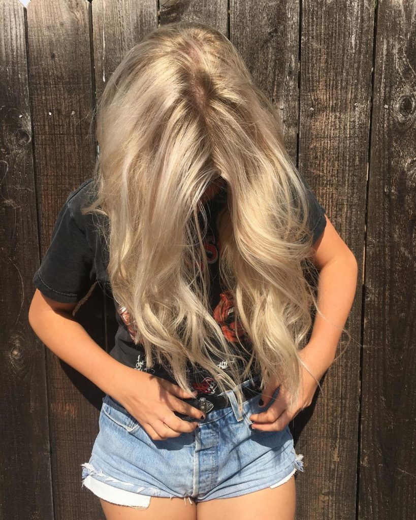 Sunkissed Hair - Hair Colors For Spring
