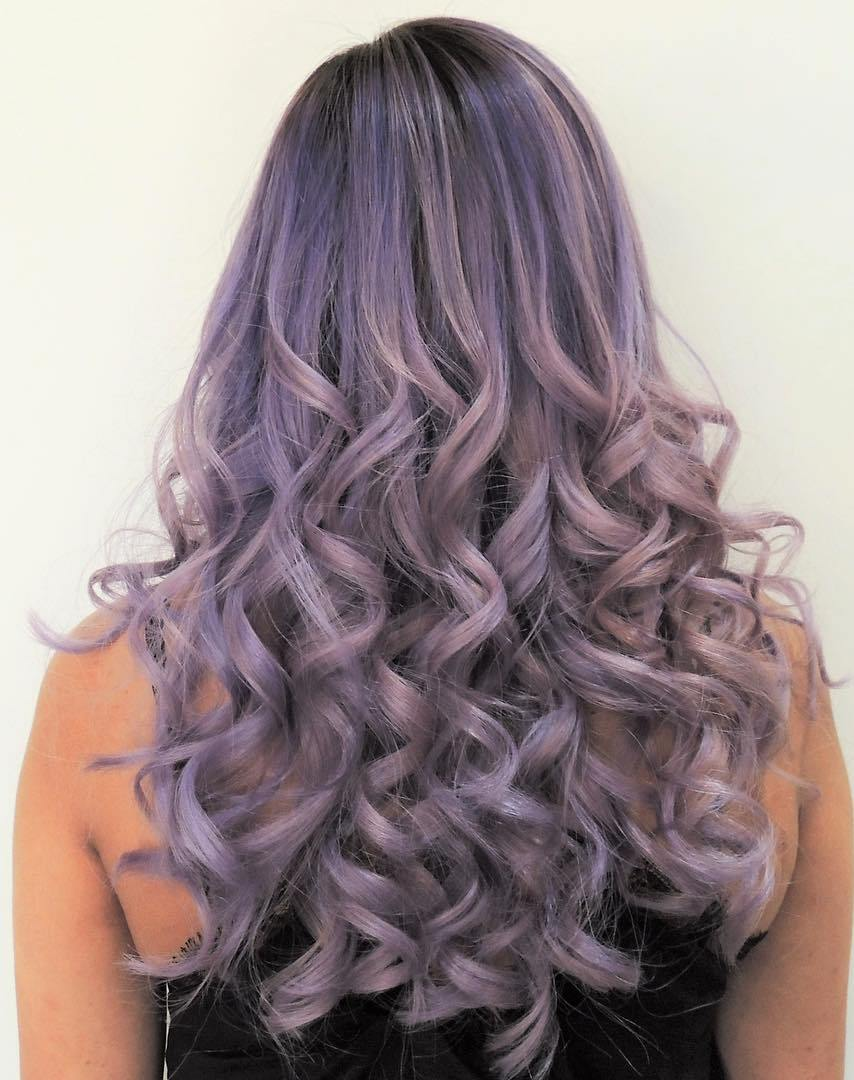 Purple Hair - Hair Colors For Spring