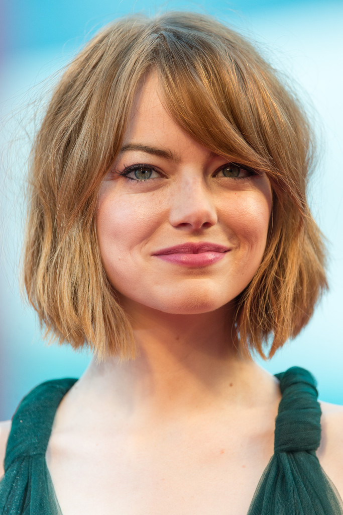 Side Bangs Bob Hairstyle